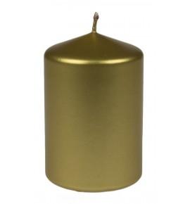 WALEC 70/100 ZŁOTY METALLIC - świeca klasyczna