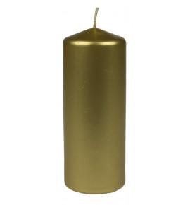 WALEC 60/150 ZŁOTY METALLIC - świeca klasyczna