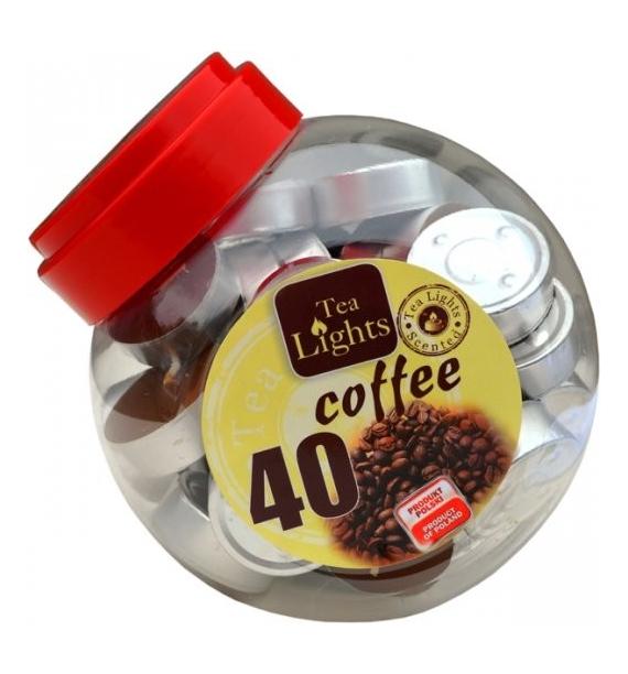 COFFEE 40szt. - podgrzewacze zapachowe