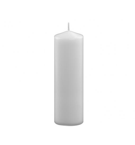 WALEC 60/180 BIAŁY - świeca klasyczna