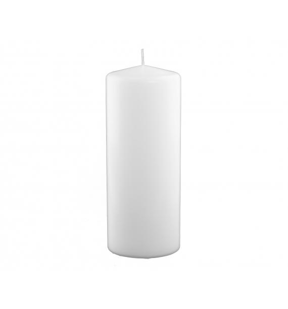 WALEC 100/250 BIAŁA - świeca klasyczna