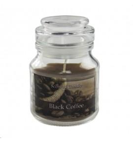 Black Coffee - świeca zapachowa w słoiczku