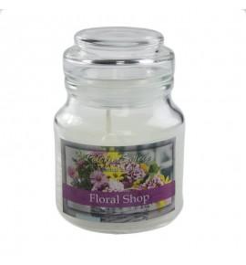 Floral Shop - świeca zapachowa w słoiczku