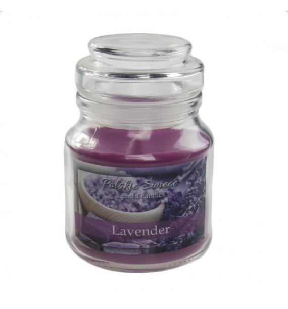Lavender - świeca zapachowa w słoiczku