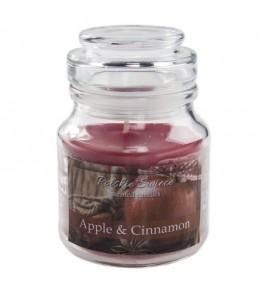 Apple Cinnamon - świeca zapachowa w słoiczku
