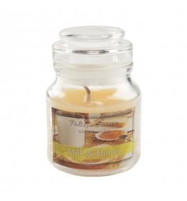 Milk & Honey - świeca zapachowa w słoiczku