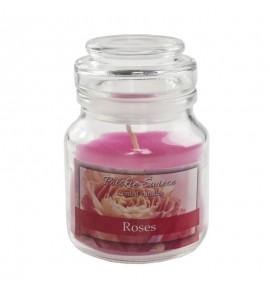 Roses - świeca zapachowa w słoiczku