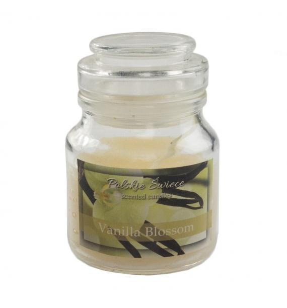 Vanillia Blossom - świeca zapachowa w słoiczku