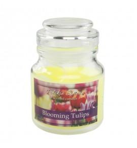 Blooming Tulips - świeca zapachowa w słoiczku