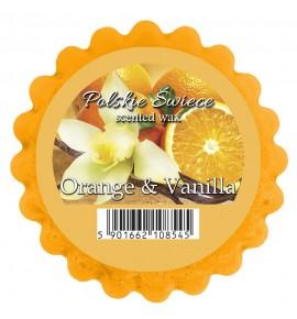 ORANGE & VANILLA - wosk MAXI zapachowy