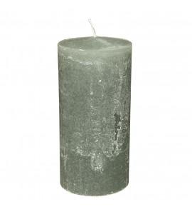 RUSTIC 100/220 SZARY - świeca bezzapachowa