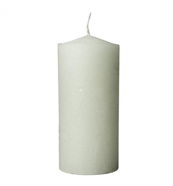 RUSTIC 100/220 BIAŁY - świeca bezzapachowa