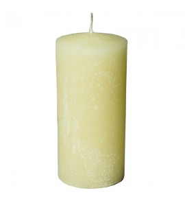 RUSTIC 100/220 ECRU - świeca bezzapachowa