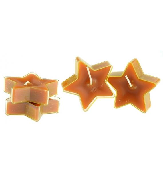 Gwiazdka Cocoa Butter 4szt. - podgrzewacze kształty zapachowe