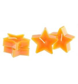 Gwiazdka Orange Peel 4szt. - podgrzewacze kształty zapachowe