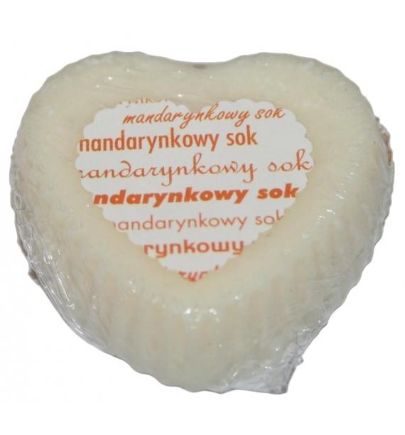 MANDARYNKOWY SOK - wosk SOJOWY zapachowy