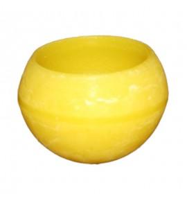 Kula D100 Żółta - lampion parafinowy