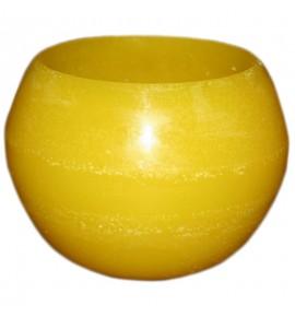 Kula D160 Żółta- lampion parafinowy
