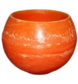 Kula D160 Pomarańcz - lampion parafinowy