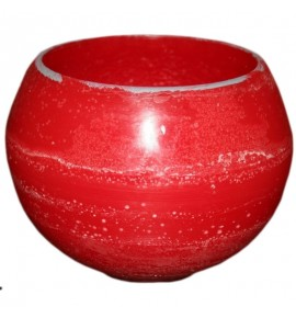 Kula D160 Czerwień - lampion parafinowy