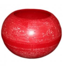 Kula D215 Czerwień - lampion parafinowy