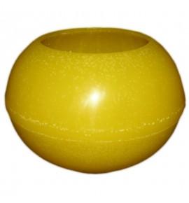 Kula D215 Żółta- lampion parafinowy