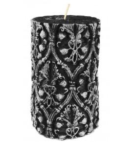 CZARNA 90/150 - świeca 3D rustic