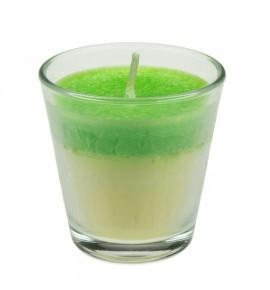 Green Apple H-65 - STEARYNOWA świeca zapachowa