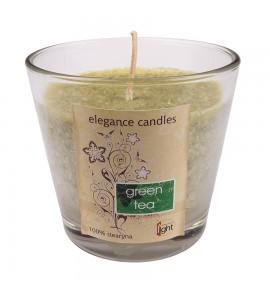 Green Tea H-80 - STEARYNOWA świeca zapachowa