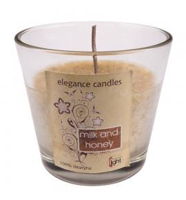 Milk & Honey H-80 - STEARYNOWA świeca zapachowa