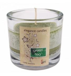 Green Tea HEVY-8 - STEARYNOWA świeca zapachowa