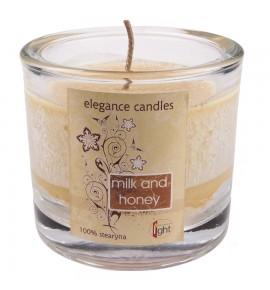 Milk & Honey HEVY-8 - STEARYNOWA świeca zapachowa