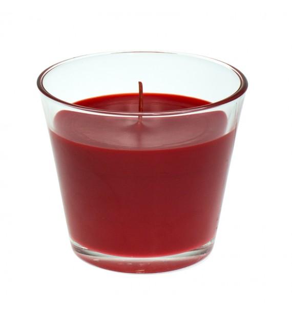 Strawberry H-100 - świeca zapachowa w szkle