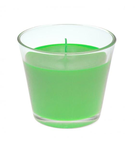 Green Apple H-100 - świeca zapachowa w szkle