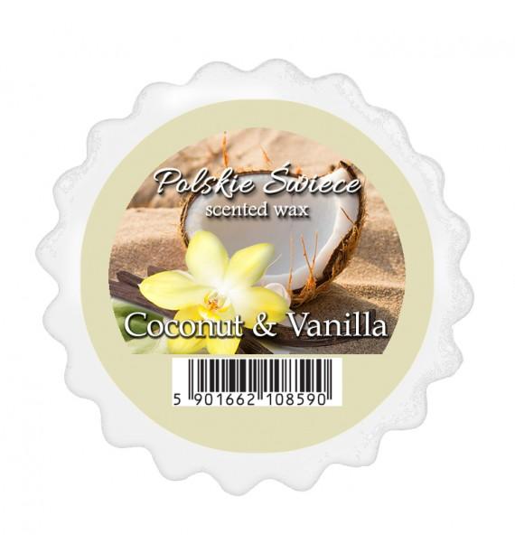 COCONUT & VANILLA - wosk zapachowy