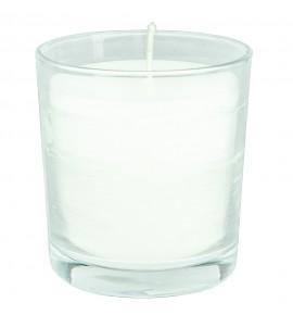 Świeca biała w szkle VIVAT bezzapachowa