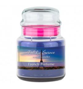 French Perfume - świeca zapachowa w średnim słoju 430g