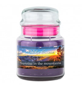 Sunrise in the Mountains - świeca zapachowa w średnim słoju 430g