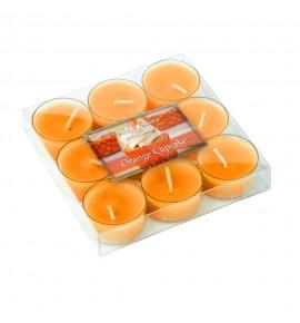 Orange Cupcake - 9szt.- podgrzewacze zapachowe