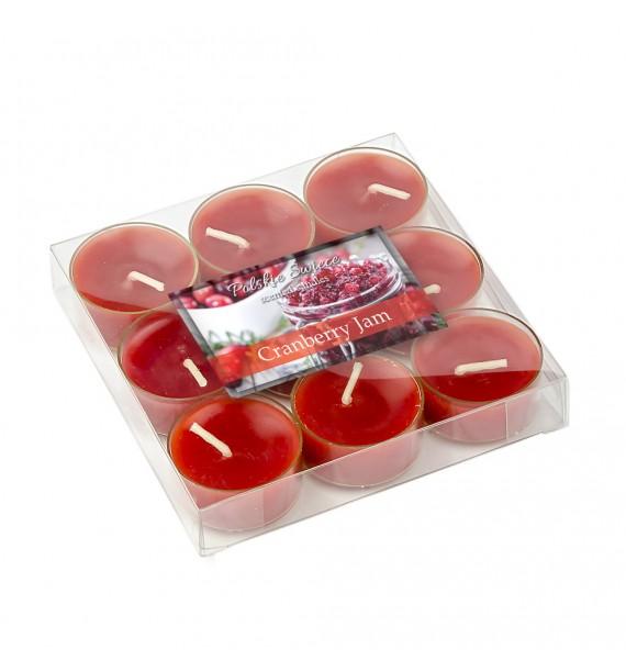 Cranberry Jam - ŻURAWINA 9szt.- podgrzewacze zapachowe