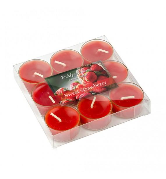 Sweet Strawberry - SŁODKA TRUSKAWKA 9szt.- podgrzewacze zapachowe