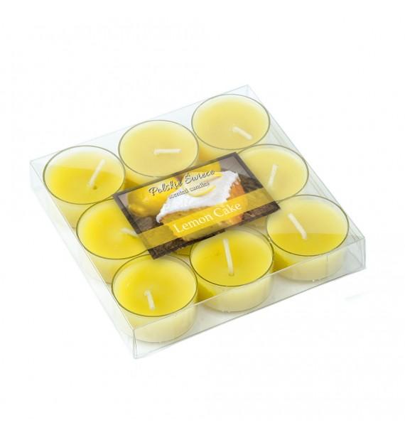 Lemon Cake - CIASTO CYTRYNOWE 9szt.- podgrzewacze zapachowe