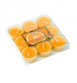 Orange Peel - POMARAŃCZA 9szt.- podgrzewacze zapachowe