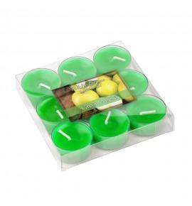 Green Apple - ZIELONE JABŁKO 9szt.- podgrzewacze zapachowe