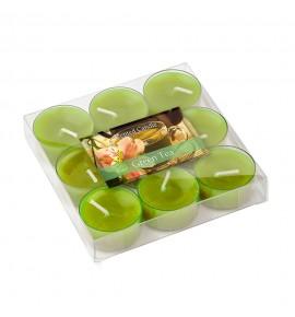 Green Tea - ZIELONA HERBATA 9szt.- podgrzewacze zapachowe