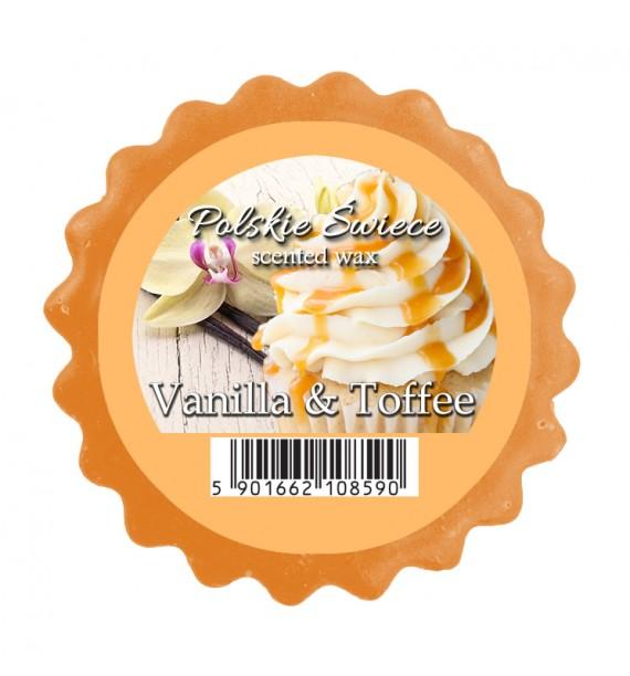 VANILLA & TOFFEE - wosk zapachowy