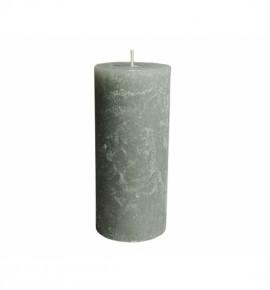 RUSTIC 80/180 SZARA - świeca bezzapachowa