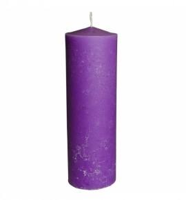 RUSTIC 100/320 FIOLET - świeca bezzapachowa