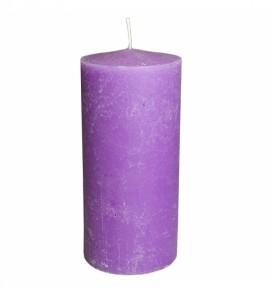 RUSTIC 100/220 FIOLET - świeca bezzapachowa