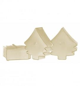 Choinka Iced Cake 4szt. - podgrzewacze kształty zapachowe